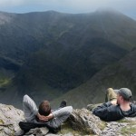 Relaxing on Carrauntoohil
